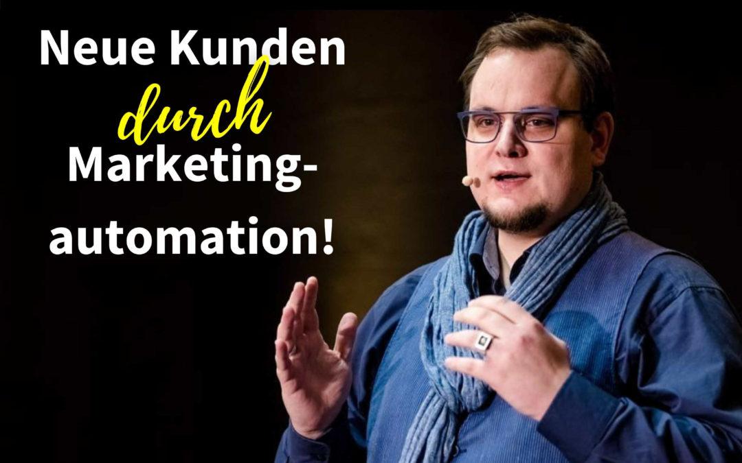 """""""Neue Kunden durch Marketing-Automation"""" Im Gespräch mit Gottfried Pelzer"""