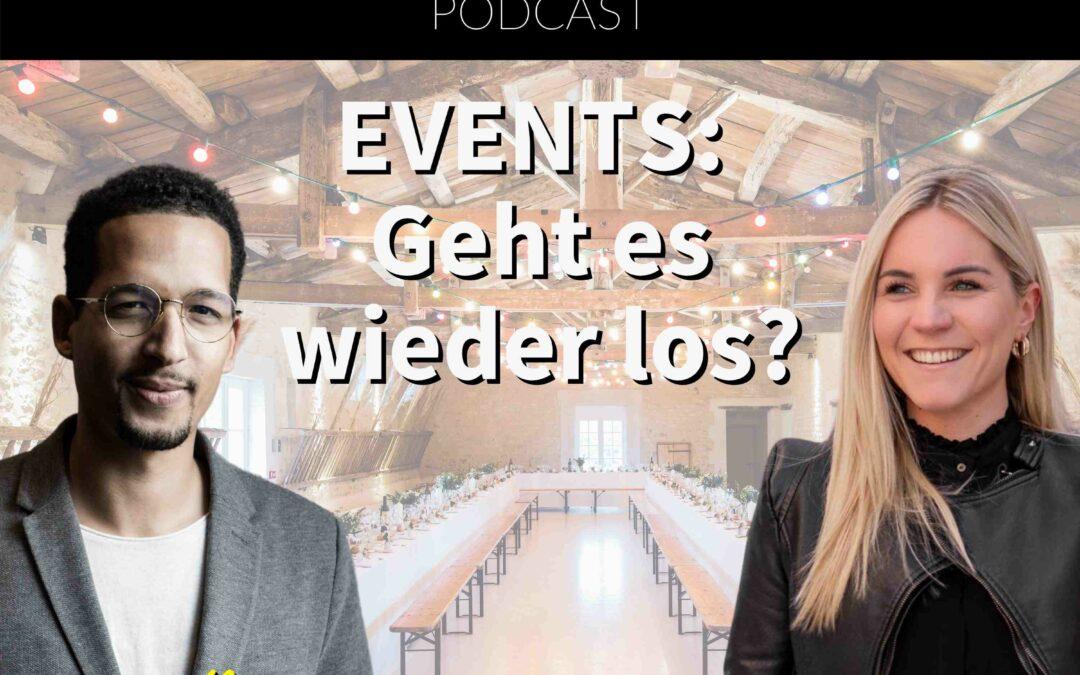Events: Geht es wieder los? Im Gespräch mit Saskia Klinder