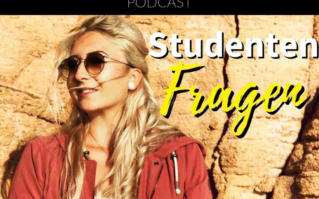Studenten Fragen – Mit Leonie Friedrich