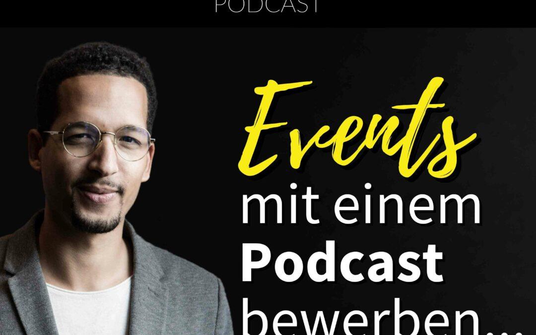 Events mit einem Podcast bewerben…